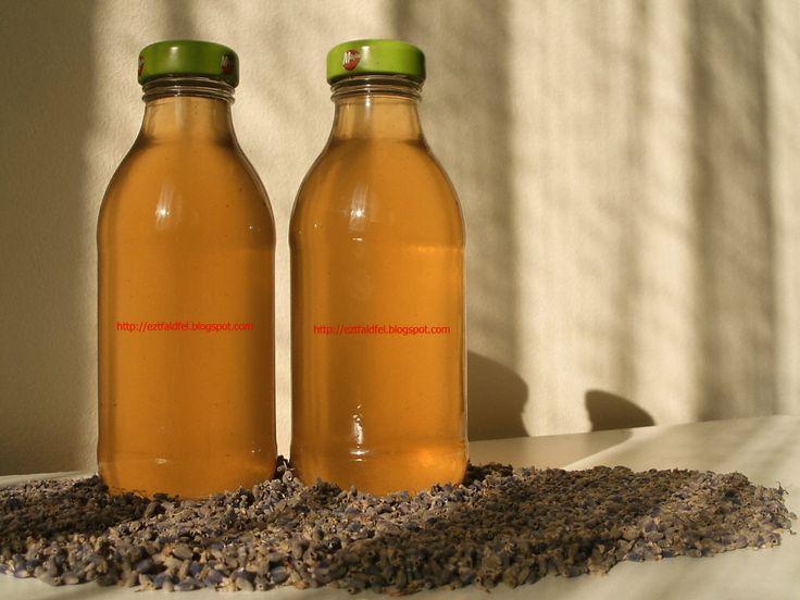 Levendulaszirup tartósítószer nélkül - levendulaszörp
