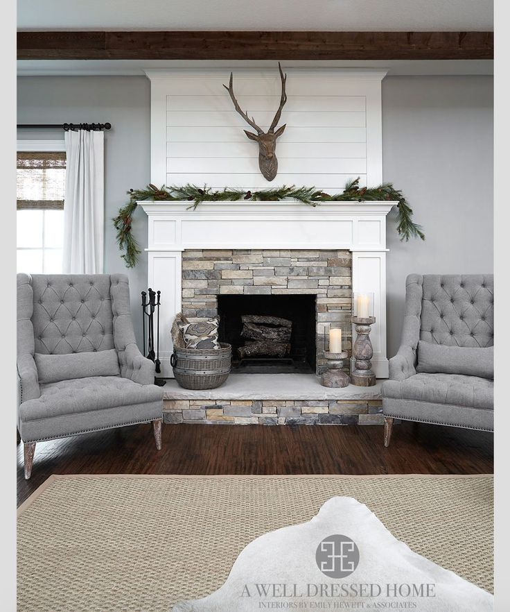 17 best ideas about stone fireplace wall on pinterest for Stone fireplace wall