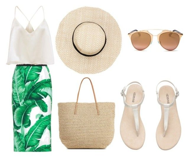 """leaf"" by viennaelgiva on Polyvore featuring Dolce&Gabbana, Target and Christian Dior"