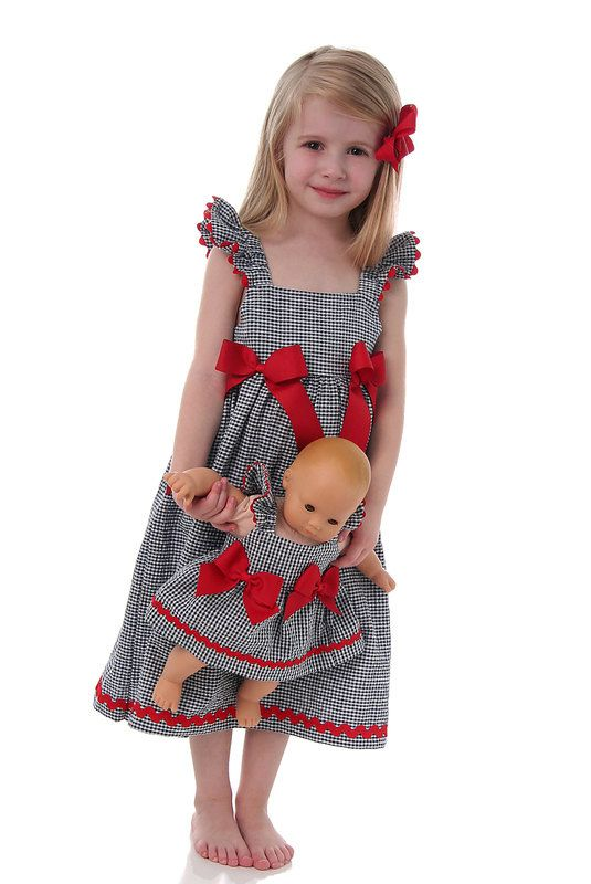 Easy Girls Dress Pattern and Top Pattern par scientificseamstress