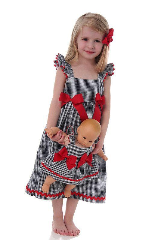 Easy Girls Dress Pattern and Top Pattern par scientificseamstress