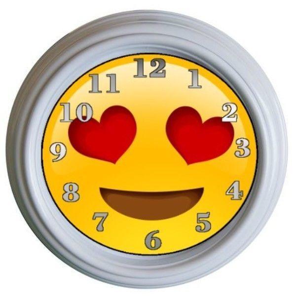 Smile Emoji Clock Kids Room Wall Decor Bedroom Decor Emoji Icons Kitchenwalldecorideas Wall Decor Bedroom Room Wall Decor Kids Room Wall Decor