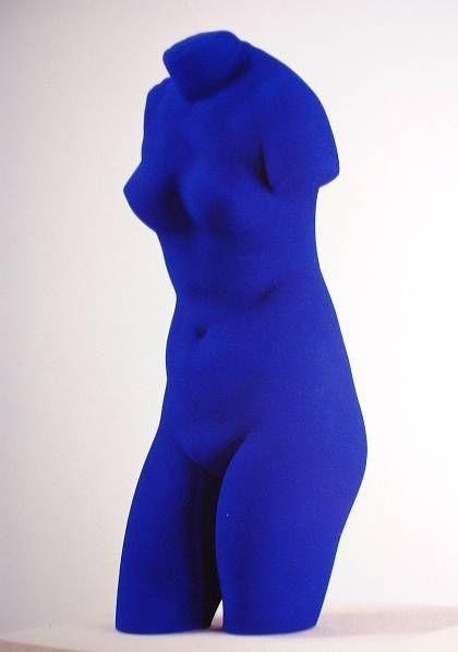 Yves Klein- Blue