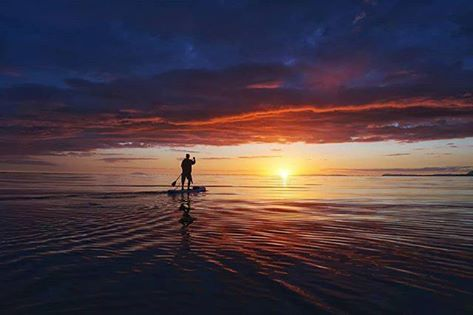 Iceland SUP   Snow   Cold Paddle Boarding   New Year