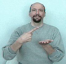 """discuss"" American Sign Language (ASL)"