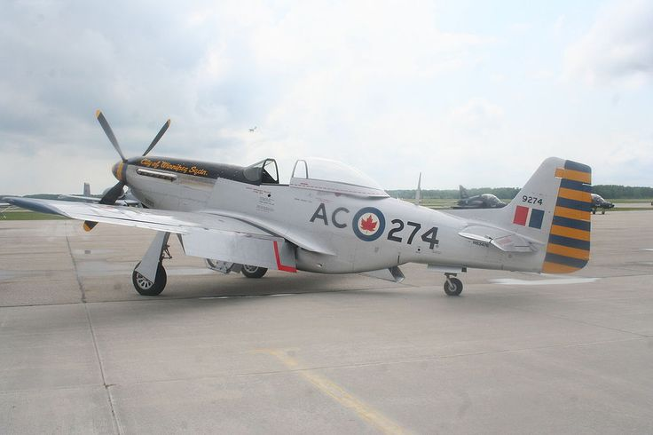 "402 ""City of Winnipeg"" RCAF Reserve Squadron Mustang"