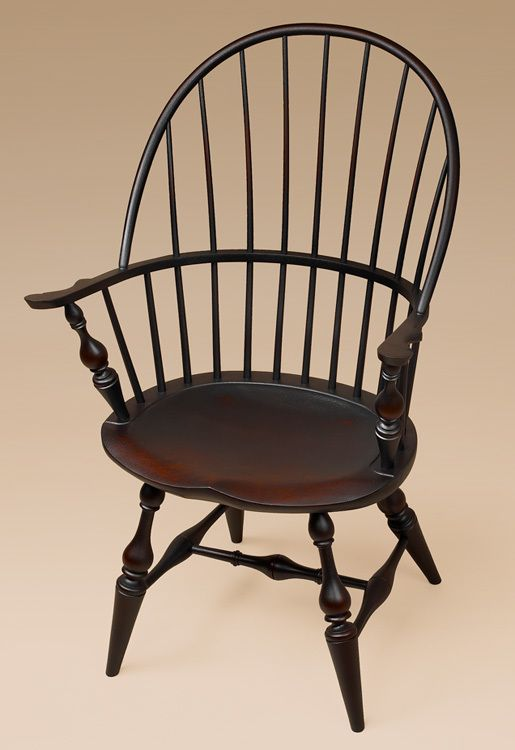 Sack Back Windsor Armchair   Classic Has Bold Turnings.
