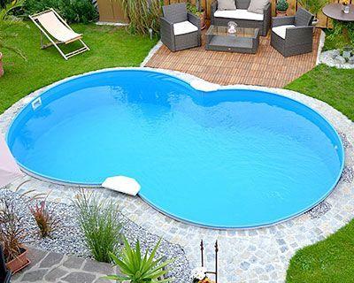 Die besten 25+ Pool über dem Boden Ideen auf Pinterest Pool über - schwimmbad selber bauen
