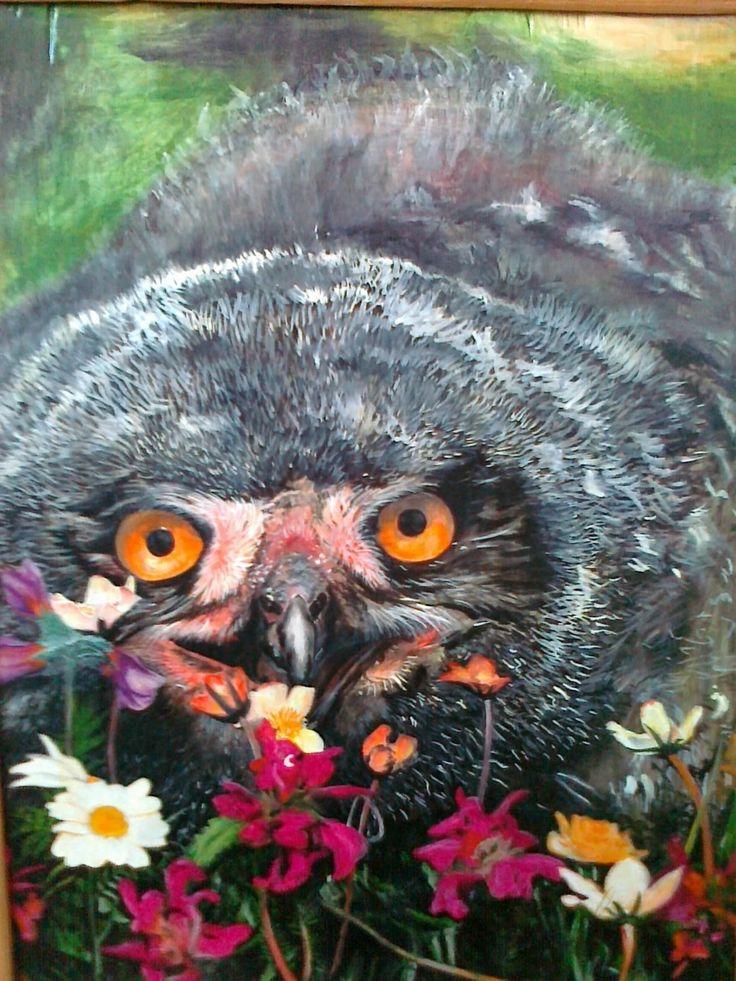 owl, Vlad. Mineev on ArtStation at https://www.artstation.com/artwork/XNw2y