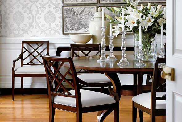 #Buford Ethan Allen at Mall of Georgia Elegant Dining Room