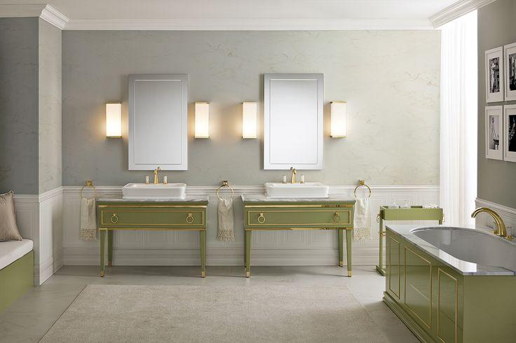 Lutetia luxury bathroom collection, designed by Massimiliano Raggi for Oasis.