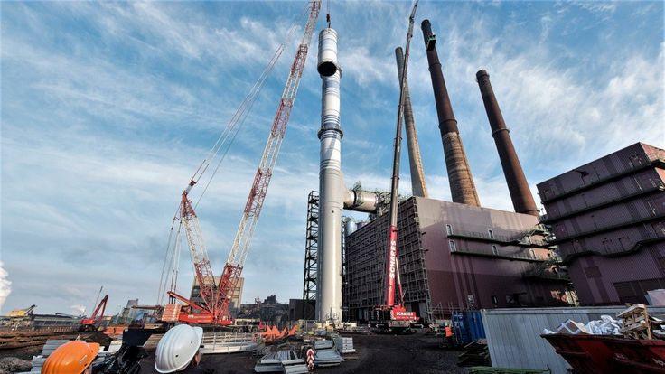 Duisburg:  thyssenkrupp errichtet weltweit größte Filteranlage für den Sinterprozess