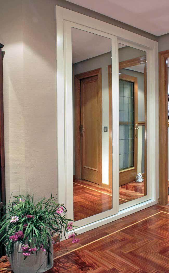 Nuevo armario empotrado a medida en madrid puerta sin for Armario puerta espejo