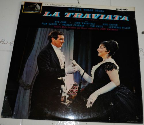 "1965 Sadler Wells Opera ""LA TRAVIATA"""