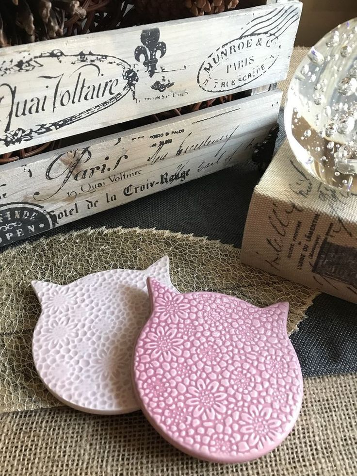 New Pink Cat Floral Ceramic Coaster Set of 2 - Great Cat Lady or Cat Man Gift! | Home & Garden, Kitchen, Dining & Bar, Bar Tools & Accessories | eBay!