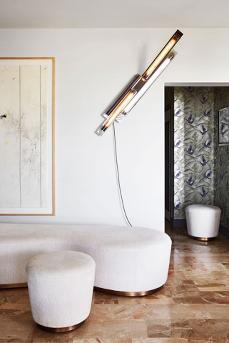 Gold and brass fixtures and faucets promising or passe apartment - Monaco Apartment Hallway Read More About The Glamorous Apartment In Monaco Via Our Journal On