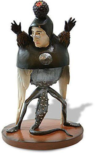 HIERONYMUS BOSCH Choirs Devil Monster Gothic Sculpture Statue Figure Figurine