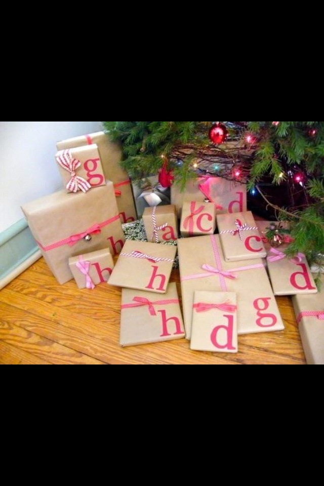Great idea for family gifts
