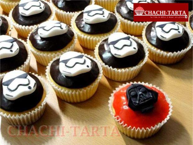 Cupcakes Starwars (sin gluten)