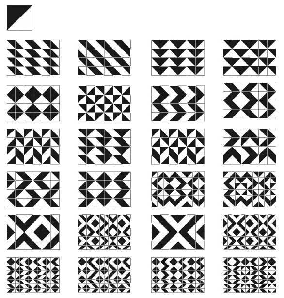 A geométrica forma dos cartemas