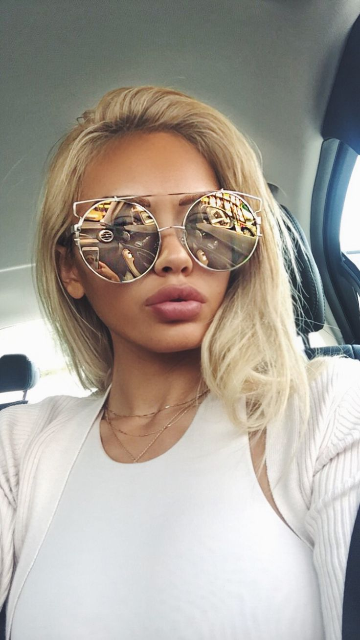 BEST SELLER 'All For You' round mirrored lens sunglasses are available to purchase at BEYANDALL.COM