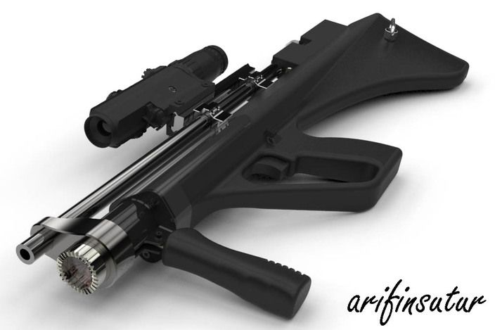 139 Best Pcp Air Rifles Images On Pinterest: Bullpup Pcp Air Rifle