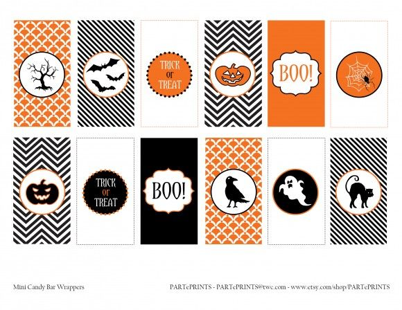 free halloween printables from parteprints - Free Printables For Halloween