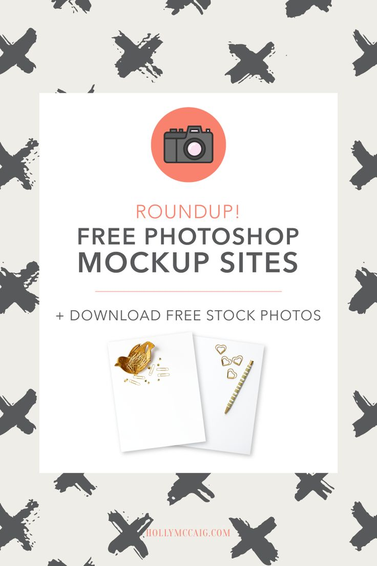 Huge roundup post for you! I have found the best FREE Photoshop Mockup sites that you'll drool over - and commercial use okay! Check out these great sites and then download my free stock photos that you can use in your blogging and social media! https://hollymccaig.com/free-photoshop-mockups/