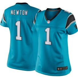 Women's Color Rush 2016 Limited Jersey Carolina Panthers Cam Newton #1