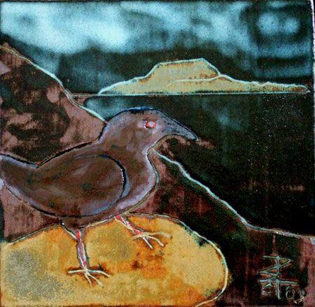 Clare Island Crow