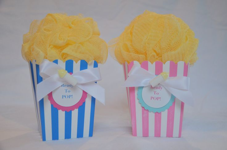 Ready to Pop Baby Shower Favor Popcorn van KristinsWhimsy op Etsy, $3,50
