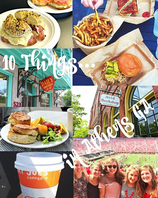 Cupcakes and Sunshine: Sweet Travels: Athens, Georgia- Ten Things to Do in Athens