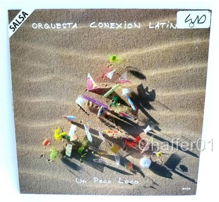 ORQUESTA CONEXION LATINA - Un Poco Loco (5023) Vinyl