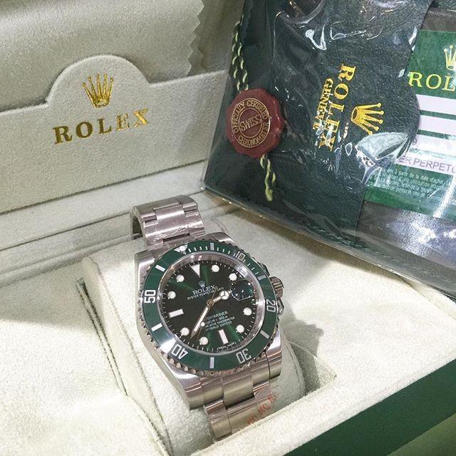 Jam Replika Rolex Submarine Green Ultimate Clone 1 1 Dgn Asli | WA 081283098098 | Harga Rp 6480000