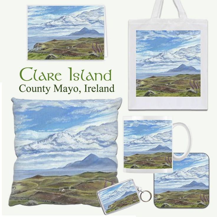 My Clare Island painting is now available on a range of printed gifts from @Zippi  Please take a look to see the whole range of items available:  https://www.zippi.co.uk/portfolio/suzannehole/clare-island  Clare Island, County Mayo, Ireland, (view of Croagh Patrick in the distance)  From an original oil painting by Suzanne Hole.   #zippi #art #gifts #giftware #homeware #clareisland #mayo #ireland #wildatlanticway