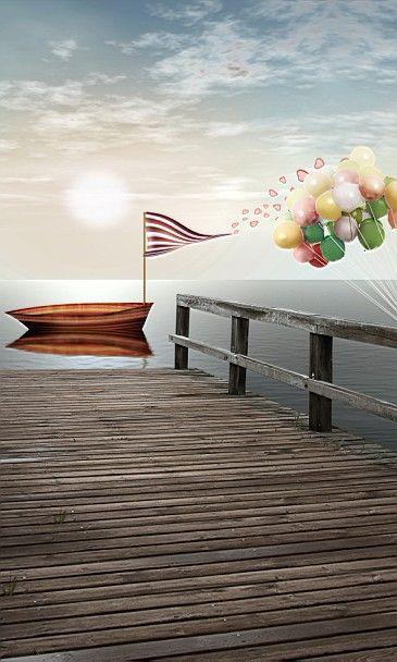 5x7ft фон для Виниловых Фотографии Живописные тема Фотостудия Фон HG-2944