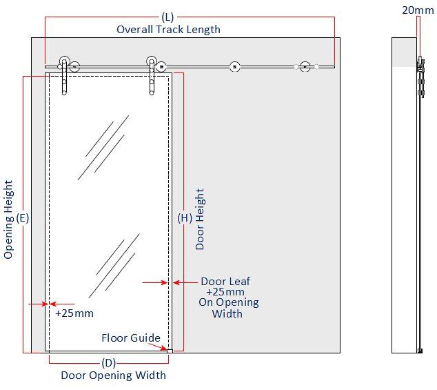 Charmant Images Of Sliding Glass Door Measurements