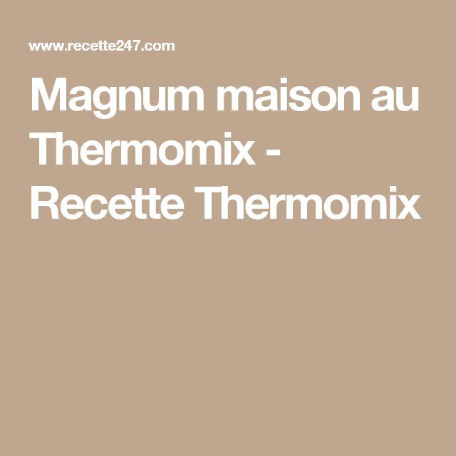 Magnum maison au Thermomix - Recette Thermomix