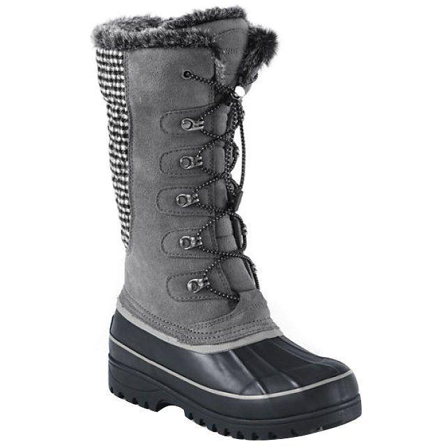 Lands' End women's Hillary tall snow boots, $99 landsend.com
