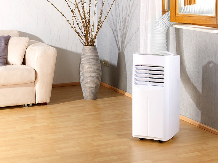 Sichler mobile Monoblock Klimaanlage 7000 BTU/h,880 W ohne Heizelement
