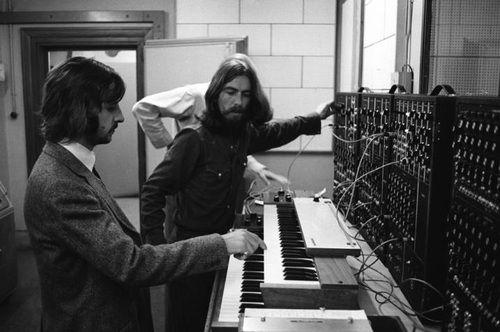 Starr & Harrison: Facebook Ablum, The Beatles, George Harrison, Ringo Starr, Ringostarr, Abbey Roads, Moog, Roads Studios, Georgeharrison