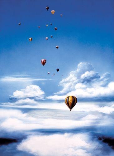 Über den Wolken XII by Carl-W. Röhrig