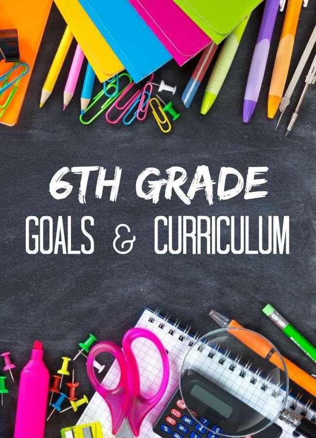 Sixth Grade Writing Standards
