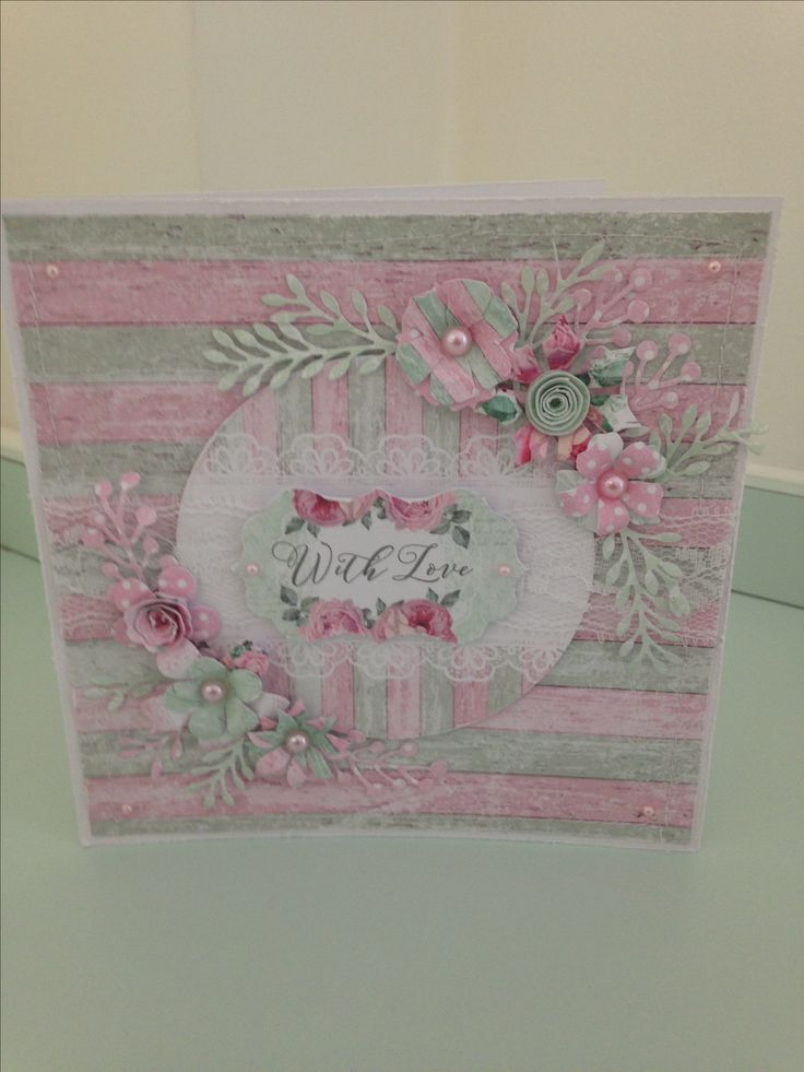 Created by Maxcine Etherington for Craftwork Cards using The Fabulous Shabby Chic collection.