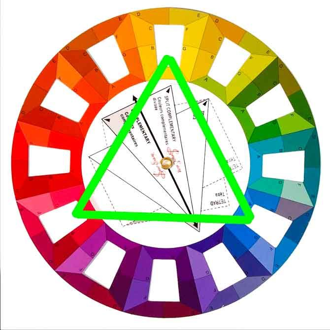 Triadic Color Scheme Examples 12 best triad color scheme images on pinterest | color theory
