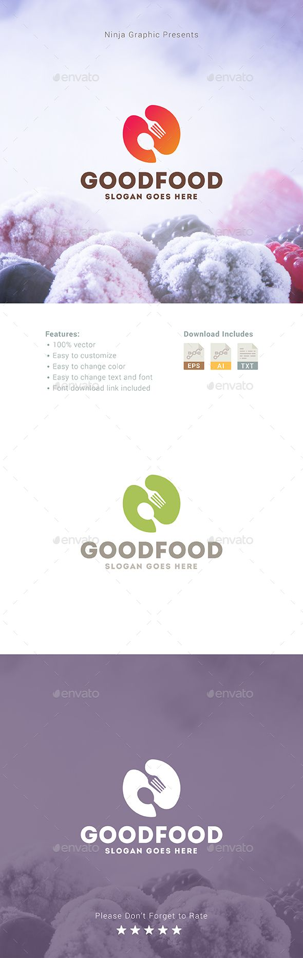 Restaurant logos and names related keywords amp suggestions restaurant - Good Food Logo