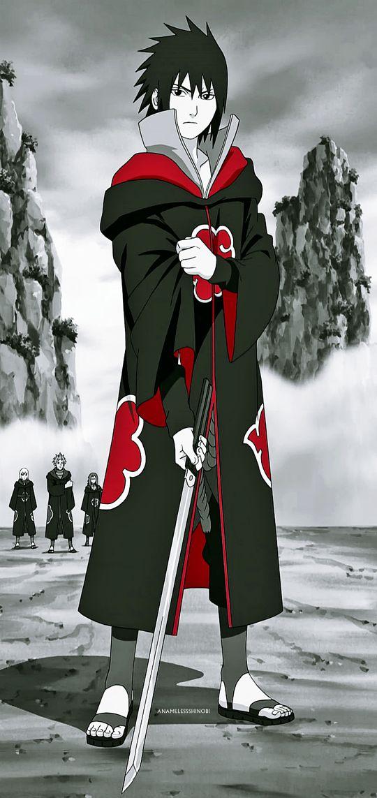 Agora entendo porque a sakura vivia correndo atrás dele,os menbros do clã Uchiha são realmente muito bonitos.