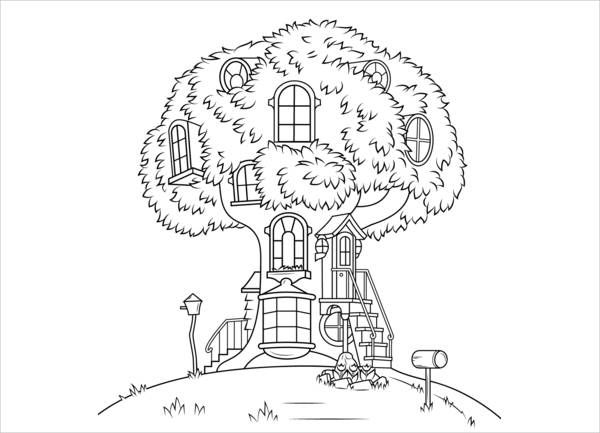 9 House Coloring Pages Bear Coloring Pages House Colouring