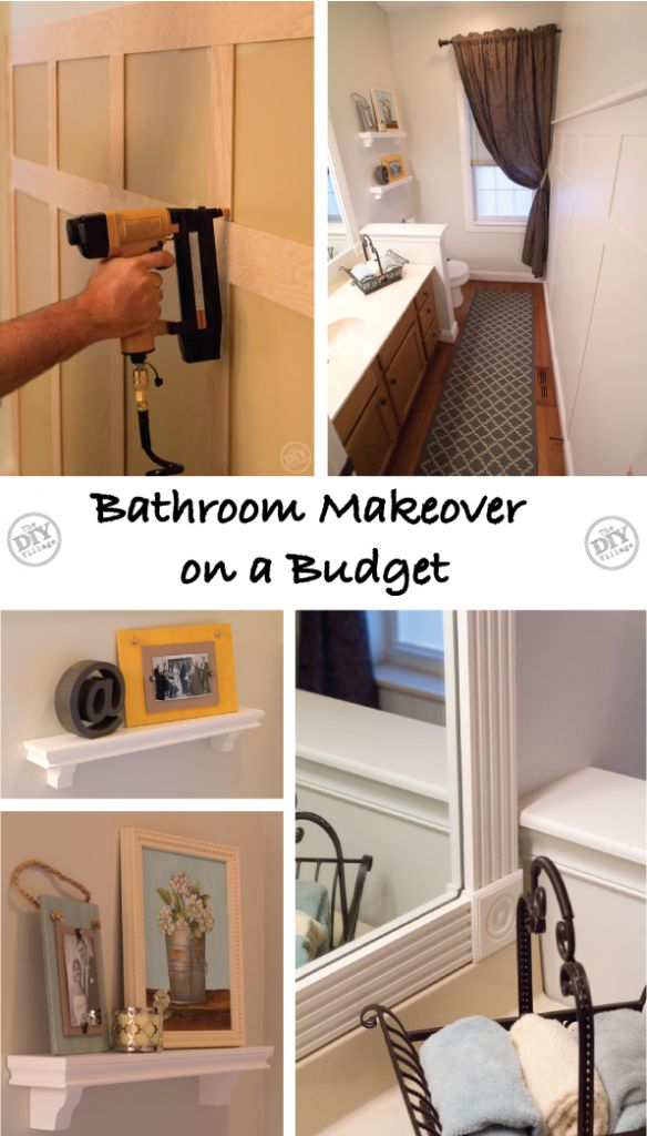 17 best images about bathroom redo on pinterest how to for Bathroom update ideas