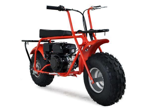 Baja Big Wheel 200cc Red All Terrain Sand Bike